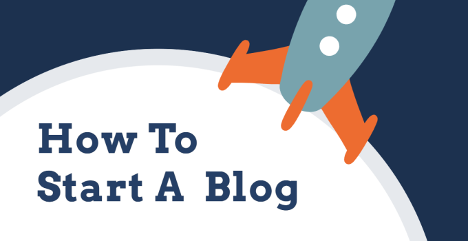 How to start a blog with no step skipped